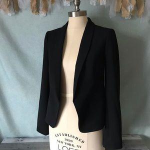 LOFT Classic Black Open Style Blazer - 1357